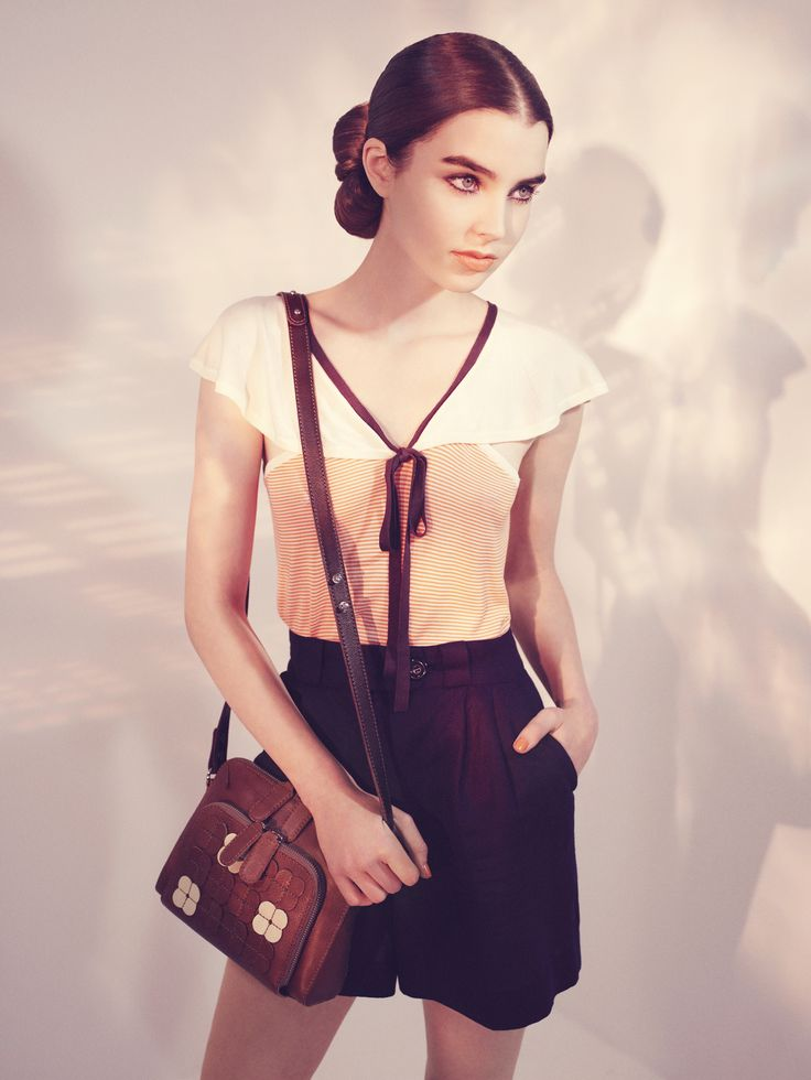 Orla Kiely Campaign shoot for S/S 10 Photography by Catherine Servel