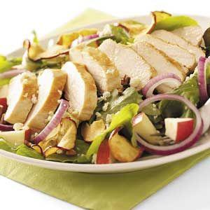 Apple Orchard Chicken Salad Recipe | Taste of Home Recipes
