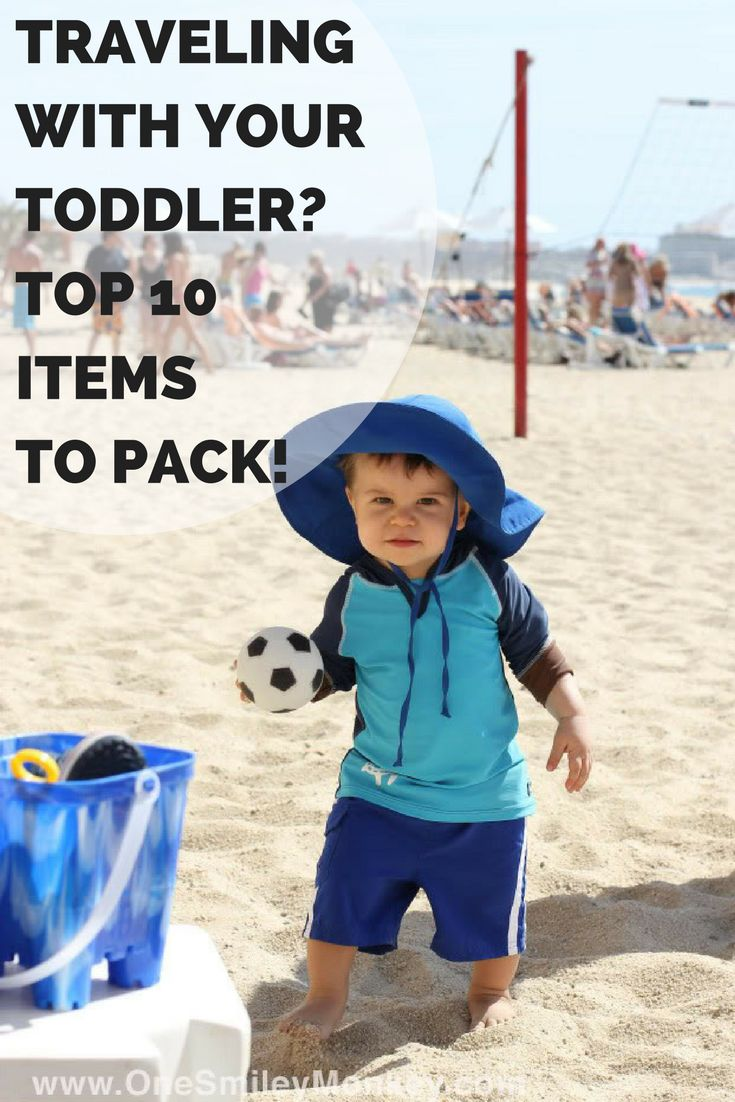 Traveling with a Toddler? {Top 10 Items to Take with You When on Vacation}