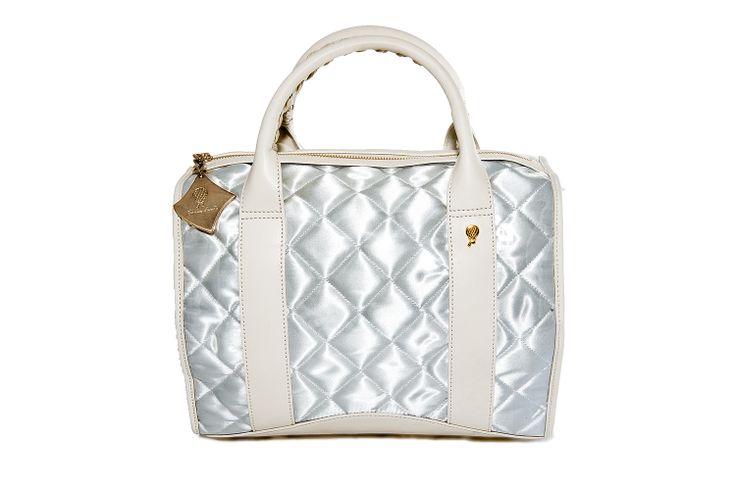 Crystal Bag - All White www.federicalunello.com #federicalunello #bags #accessories #handamade #madeinitaly