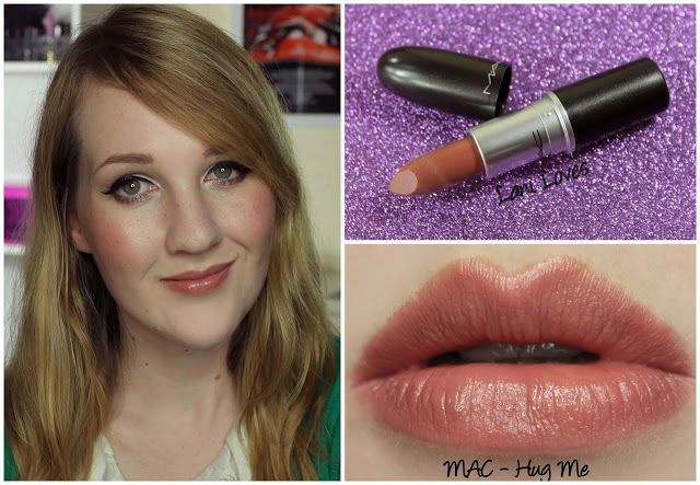 MAC Hug Me lipstick swatch