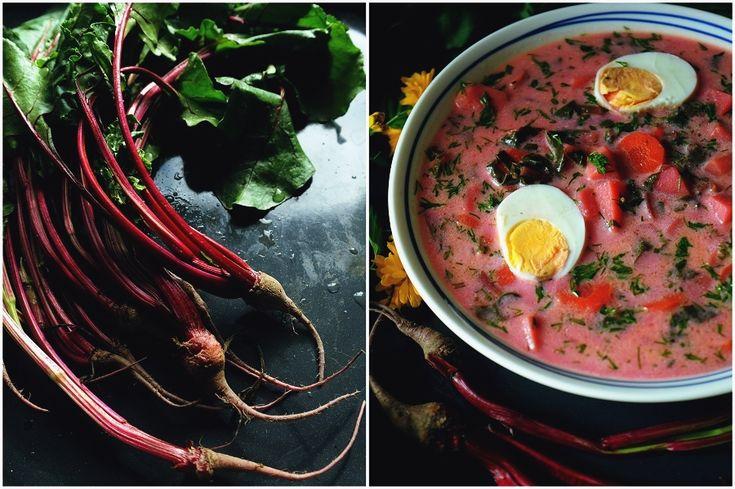 Sposób na zupę z botwiny z ziemniakami