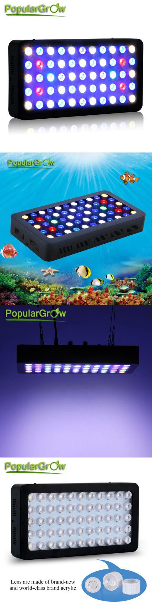 Buy fish for aquarium online bangalore - Other Fish And Aquarium Supplies 8444 Popularow 165w Dimmable Full Spectrum Led Aquarium Light Marine