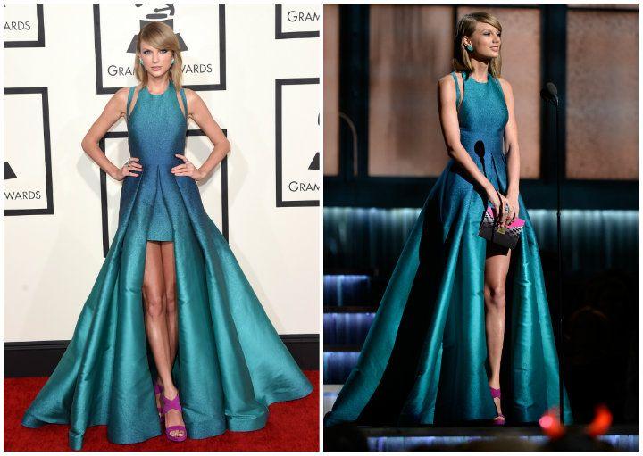 Com certeza eleita a mais bem vestida da noite. (Getty Images)