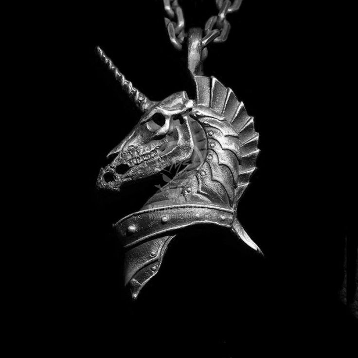Sterling Silver Skull Pendants 60 best mens pendants original handmade sterling silver skull holy unicorn original design necklace pendant ssp84 audiocablefo