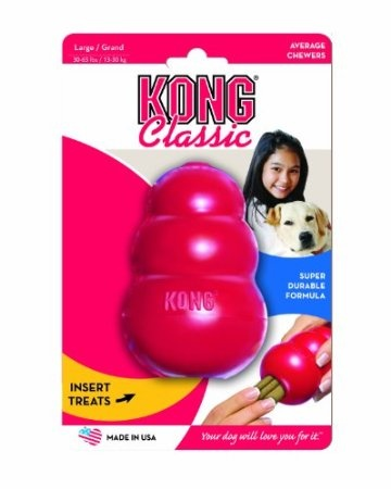 Kong Toy: Love this toy for it's durability.  Can be used unsupervised - stuff with your pet's normal food (along with a treat or two).  Can also put in a little peanut butter or wet food and freeze.  Good for a distraction, time alone in the kennel or for teething puppies.