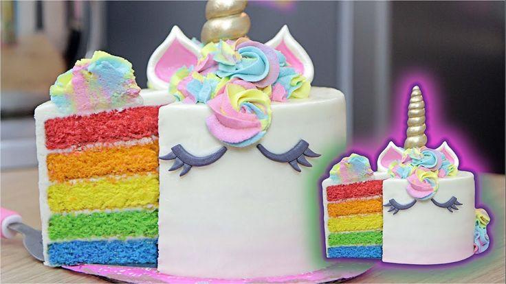 Pastel Unicornio - Arcoíris / Dacosta´s Bakery
