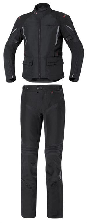 serious protection and style from this all over textile motorcycle riding jacket and pants with Gore-Tex from Held USA