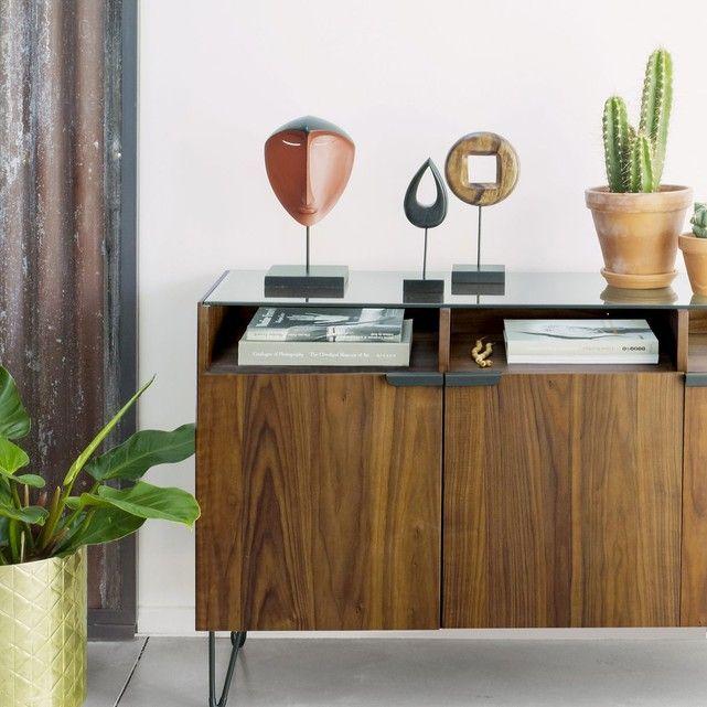 Buffet Vintage 3 Portes 3 Niches Watford Mobilier De Salon Meuble Vintage Et Meuble Deco