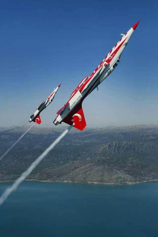 Northrop NF-5A Freedom Fighter - Turkish Stars (Türk Yildizlan), Turkish Air Force (Türk Hava Kuvvetleri), Turkey.