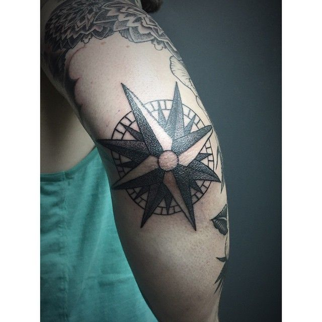 Best 20+ Nautical Compass Tattoo Ideas On Pinterest