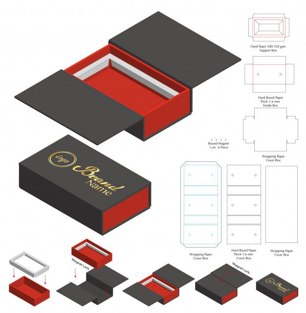 Download Pin On Paper Box Template Packaging