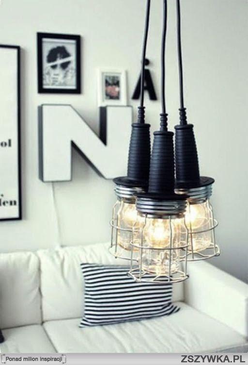 oryginalne lampy w stylu industrialnym