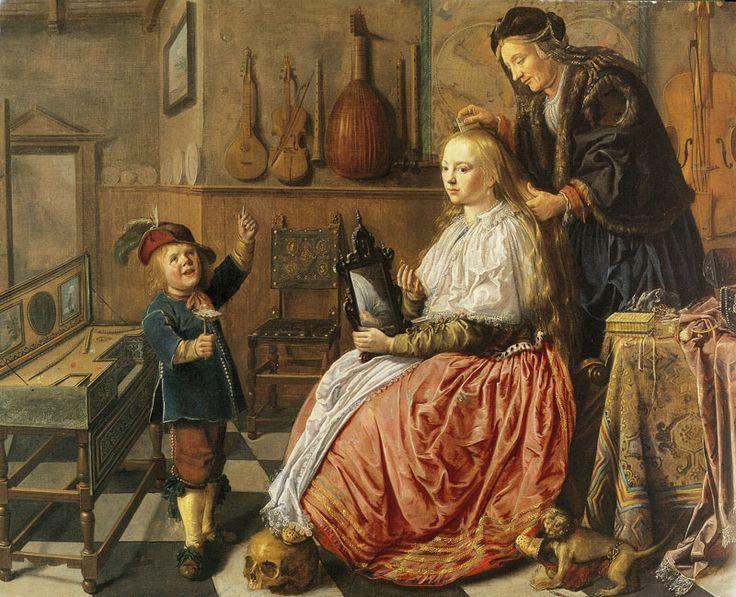 Allégorie de la vanité, par Jan Miense Molenaer