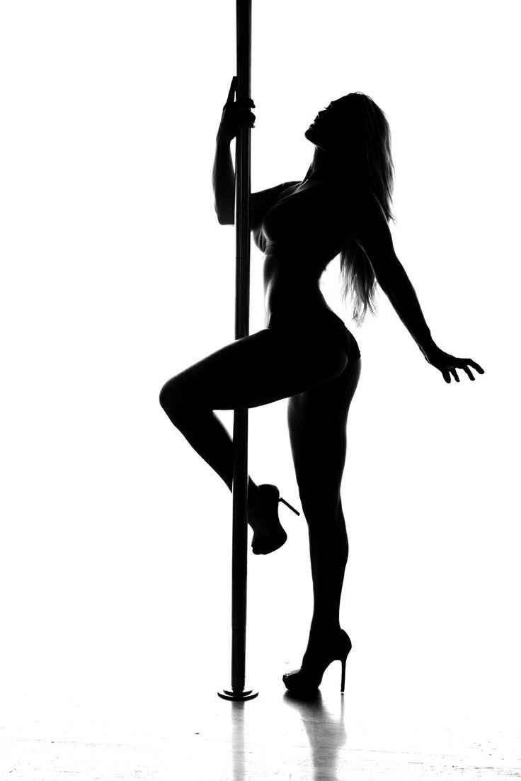 Silhouette Of A Male Stripper 58
