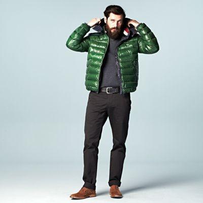 Donsjacks zijn de trend deze winter, kies eens voor een actuele kleur zoals donkergroen!  #LOOKVANDEDAG