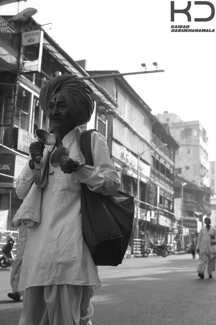 Old Indian man on the street. By Kaizad Darukhanvala who is doing his Degree in Photography.
