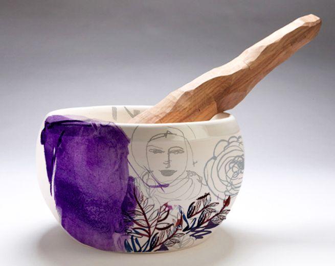 Pottery-kitchen_accessories-Illustration