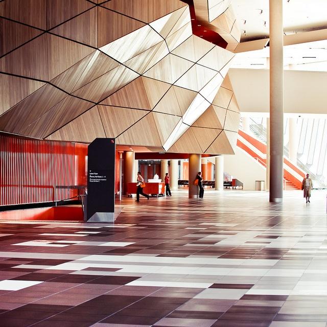 Melbourne Convention Centre foyer