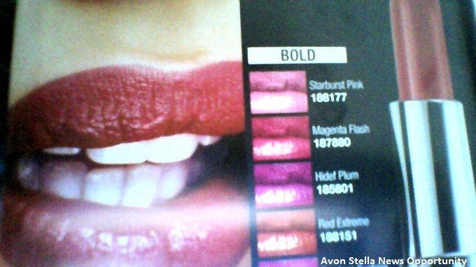 AVON C16 - NATALE AVON, MOMENTO MAGICO !  * Al Prezzo Migliore dell'Anno ! *  LABBRA AUDACI COL ROSSETTO COLORE SEMPREVIVO BOLD A SOLI 3,95€ L'UNO 11 tonalità   * Perchè TRUE BOLD?  Contiene il 50% di pigmenti in più per un colore ad alto impatto