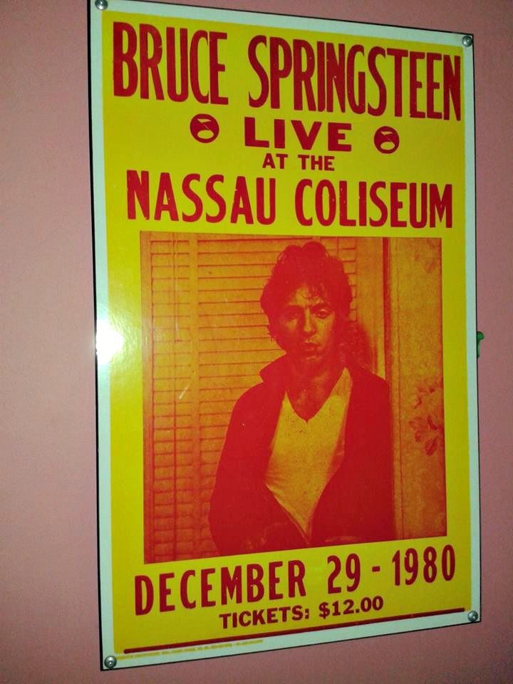 #Bruce #Springsteen #live #concert sign from December 29, #1998