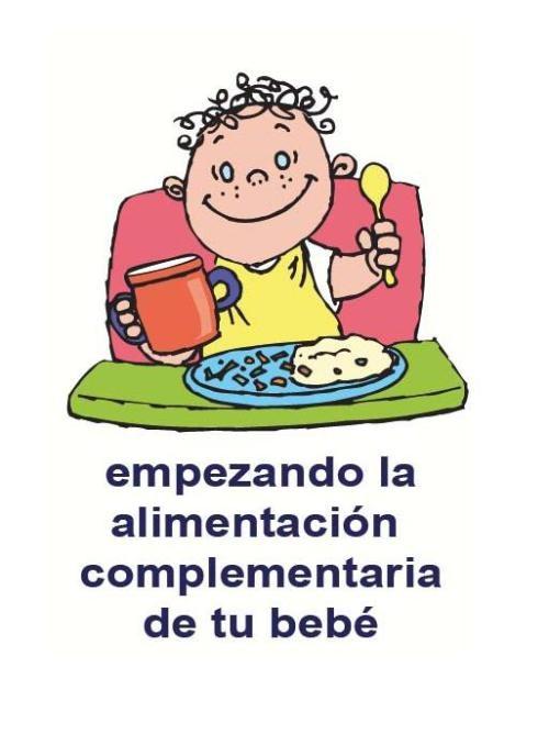 Alimentacion Complementaria según la asociación de pediatría británica