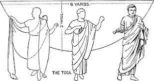 El vestido romano | Ana Vazquez Hoys