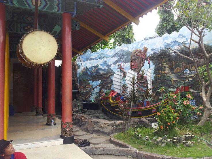 Ceng Ho diorama