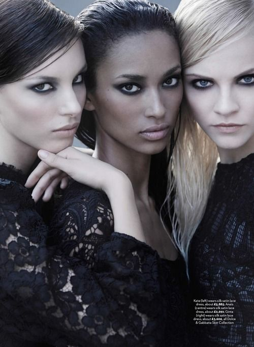 M: Ginta Lapina, Kate King and Anais Mali, P: Simon Upton, S: Lisa Oxenham (Marie Claire UK August 2014)