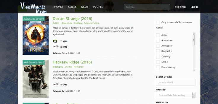 Here are top 41 free movie websites 2017 for movie streaming. Sites to watch free movies online and tv shows and live TV shows online.