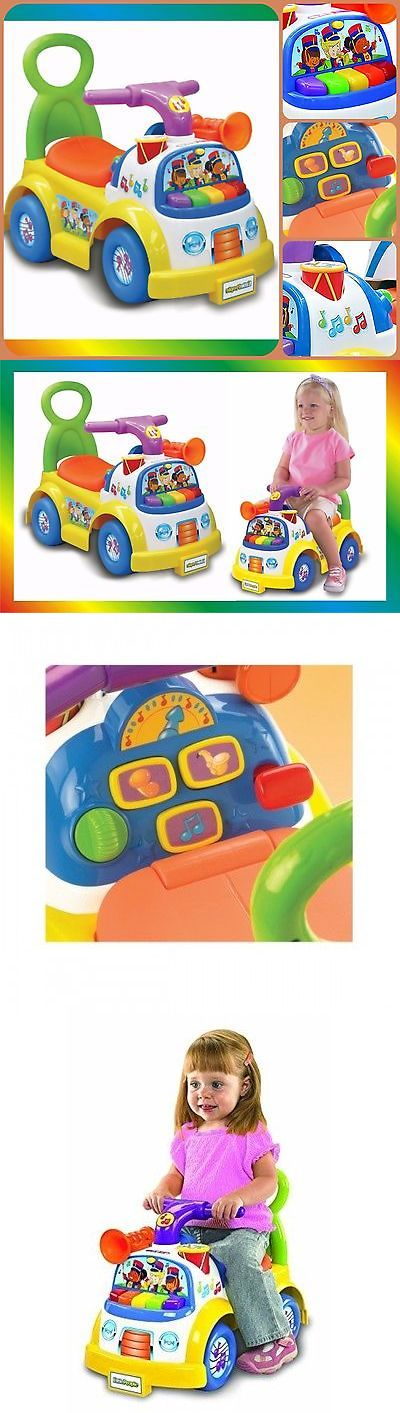 1970-Now 19022: Kids Ride Push Toy Car Mini Indoor Backyard Fun Children Play Music Sound Horn -> BUY IT NOW ONLY: $43.55 on eBay!