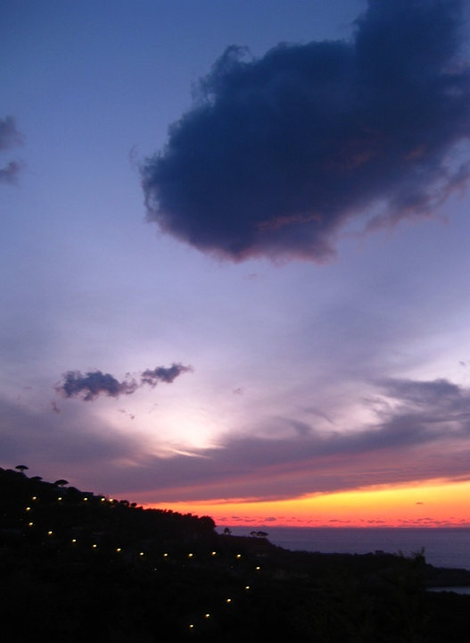 ENJOY THE SUNSET COMING BACK TO SORRENTO