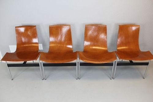 William Katavolos T-Chair Brown