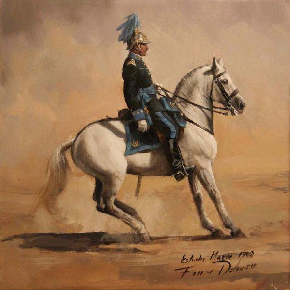 1918. Coronel del Estado Mayor.. Ejército Español.