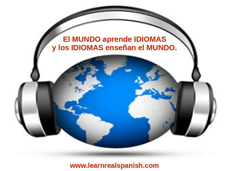Open your mind. Learn Spanish by listening and improve quickly.