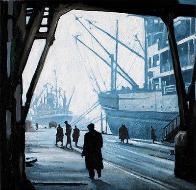 Ryan MUTTER-A Busy Day at the Dockside