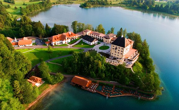 Schloss Fuschl Resort & Spa is a beautiful, historic hotel located on the banks of Lake Fuschl outside Salzburg, Austria