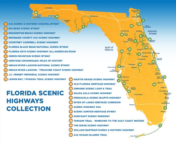 Want to find a scenic road near you? Check out this map made by Florida Scenic Highways.
