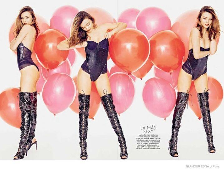 Miranda Kerr será la próxima portada de la revista Glamour para el mes de diciembre