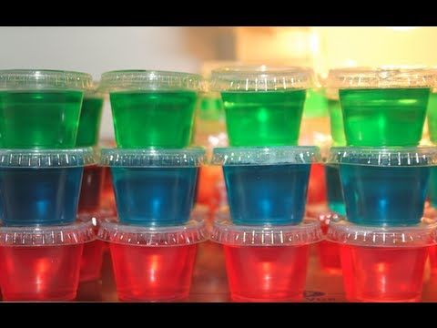 Jelly Shots    http://www.youtube.com/watch?v=ZmuaO8NykUk