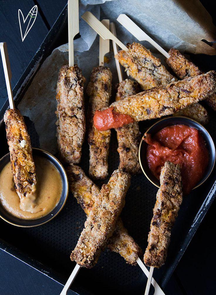 Weet jij al waar je je valentijn dit jaar mee gaat verrassen? Met deze Crispy Falafel-corn Sticks maak je zeker indruk! Heerlijk met een groene salade.