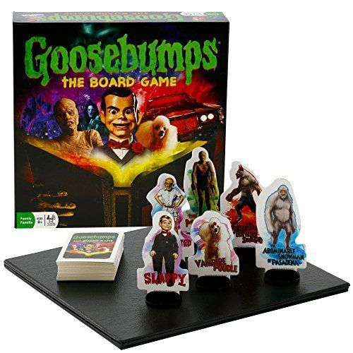 Goosebumps Halloween Party Game - Board Game based on the Goosebumps Movie Outset Media http://www.amazon.com/dp/B013GYC6KS/ref=cm_sw_r_pi_dp_3Sn-vb18P1HAZ