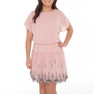 Блузон Топ Платье с блестками юбка вышитые