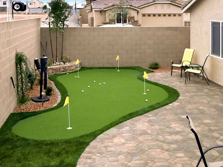 Putting Greens In Las Vegas, NV | Synthetic Putting Greens ... Desert  BackyardPool ...