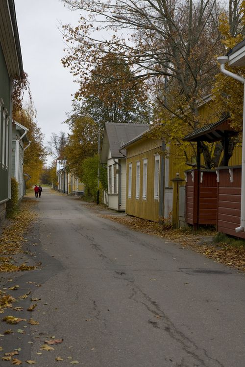 Kristiinankaupunki, Finland - one of the charming streets of this historic old town