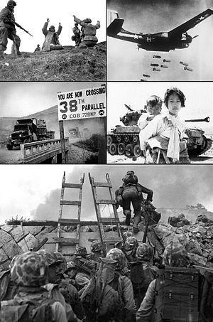 Instantáneas de la guerra de Corea