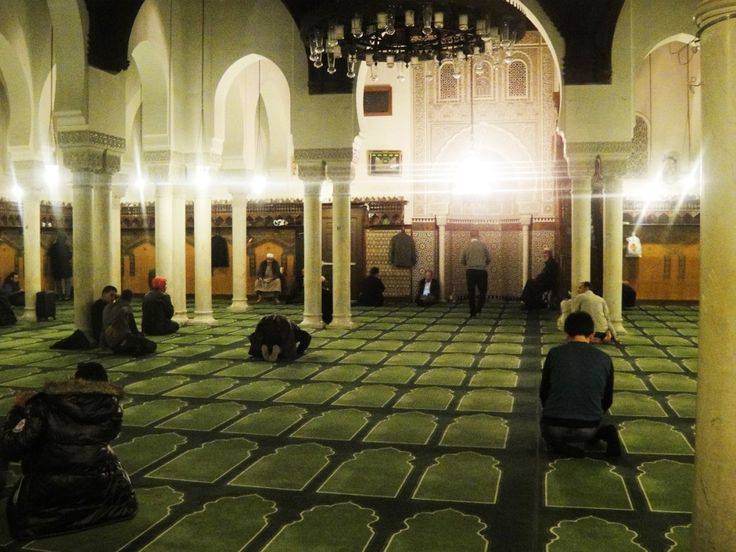 The Grand Mosque of Paris, France