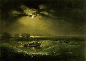 Уильям Тернер «Рыбаки в море»