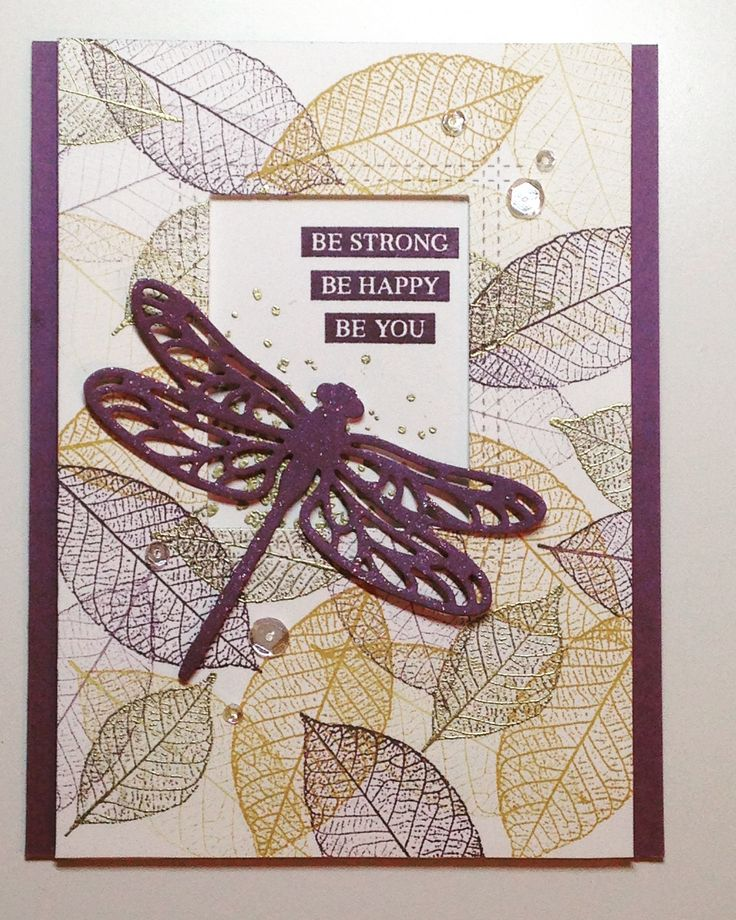Encouragement card stampin up stamps rooted in nature