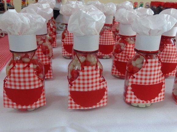 decoracion fiesta tematica mini chef - Buscar con Google